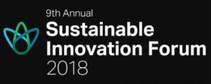 Sustainable Innovation Forum 2018