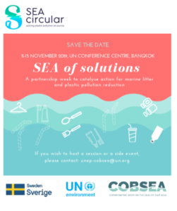 SEA of Solutions: Partnership Week  for Marine Plastic Pollution Prevention