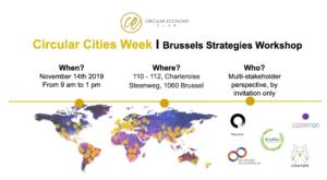 Circular Cities Week Workshop - Brussels