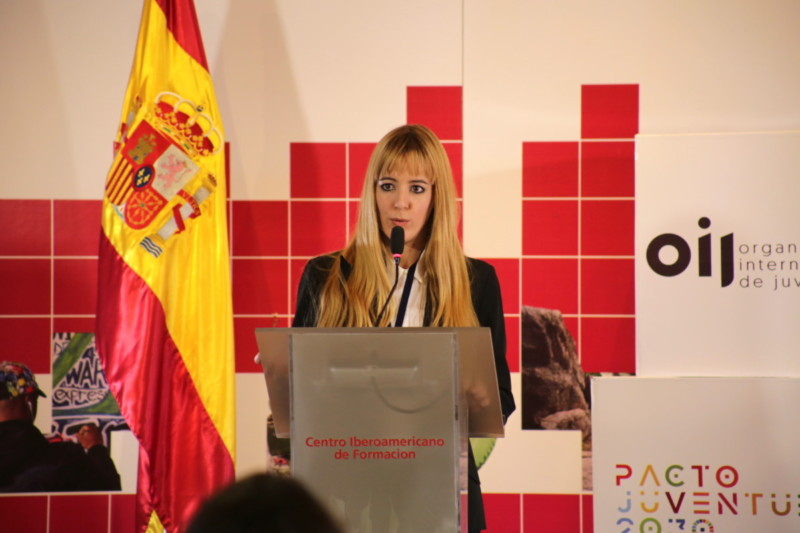 Ibero-American Youth Award Speech
